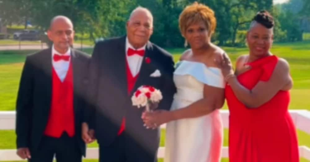 A 90-year-old man got married four years after losing his wife. Photo: @becauseofthem.