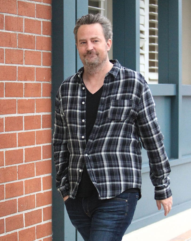 51-year-old Friends actor Matthew Perry engaged to 29-year-old girlfriend