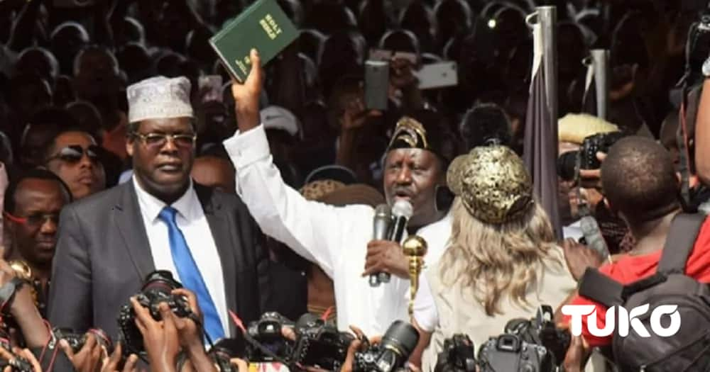 Miguna Miguna stirs internet after offering to swear in Donald Trump as US People's president