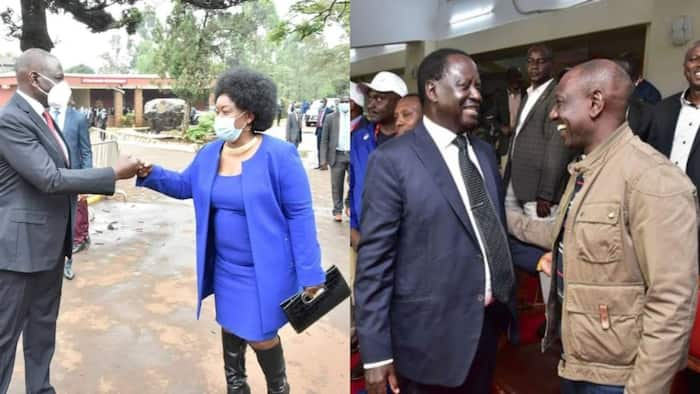 Millie Odhiambo says Raila ready to work with Ruto if he agrees to have handshake