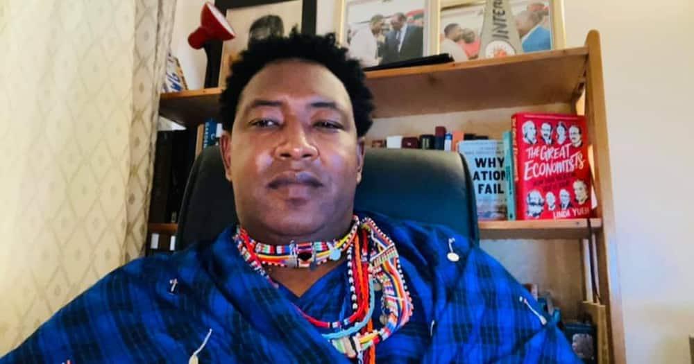 Narok Senator Ledama Ole Kina. Photo: Ledama Ole Kina.