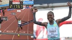 Mwanariadha Angela Tanui Avunja Rekodi ya Marathon na Kutoa Ushindi Wake kwa Agnes Tirop