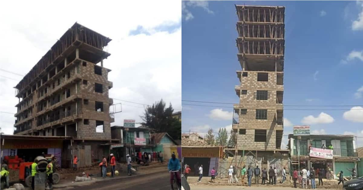Image result for dangerous building in nairobi
