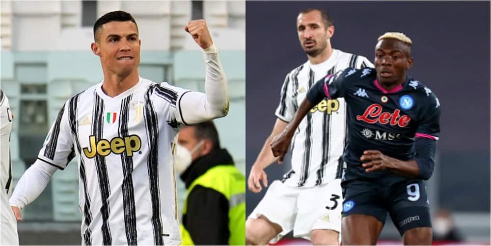 Ronaldo scores 26th Serie A goal as Osimhen shines in Juventus win over Napoli
