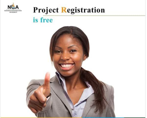 NCA project registration