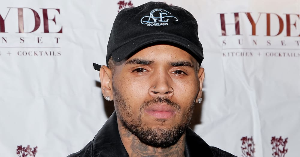 Police Break up Chris Brown's Birthday Party after Neighbours Complained