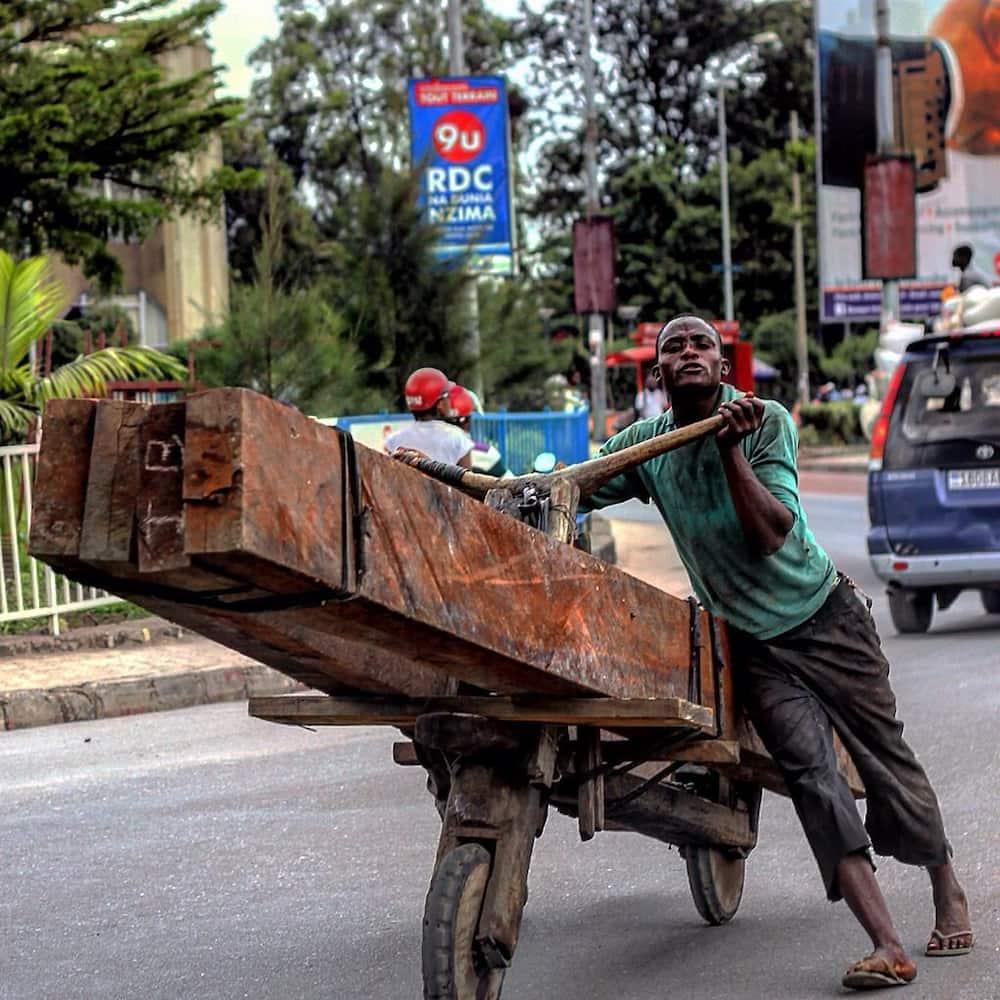 Baiskeli za ajabu zinazotumika nchini Congo
