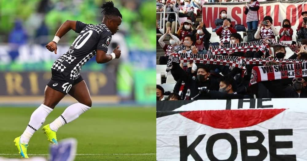 Harambee Stars midfielder Ayub Timbe nominated for award in Japan days after making debut for Vissel Kobe