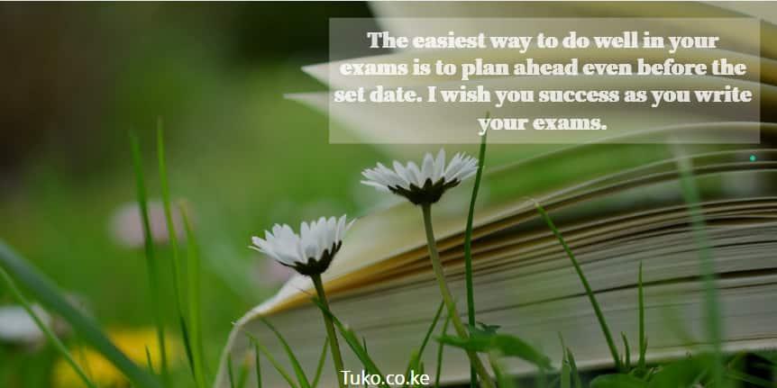 examination wishes