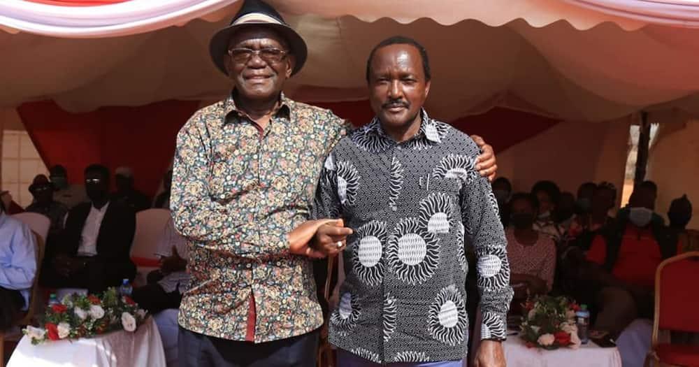 Mpango Wangu ni Kumshinda DP Ruto Mwaka Ujao, Kalonzo Asema