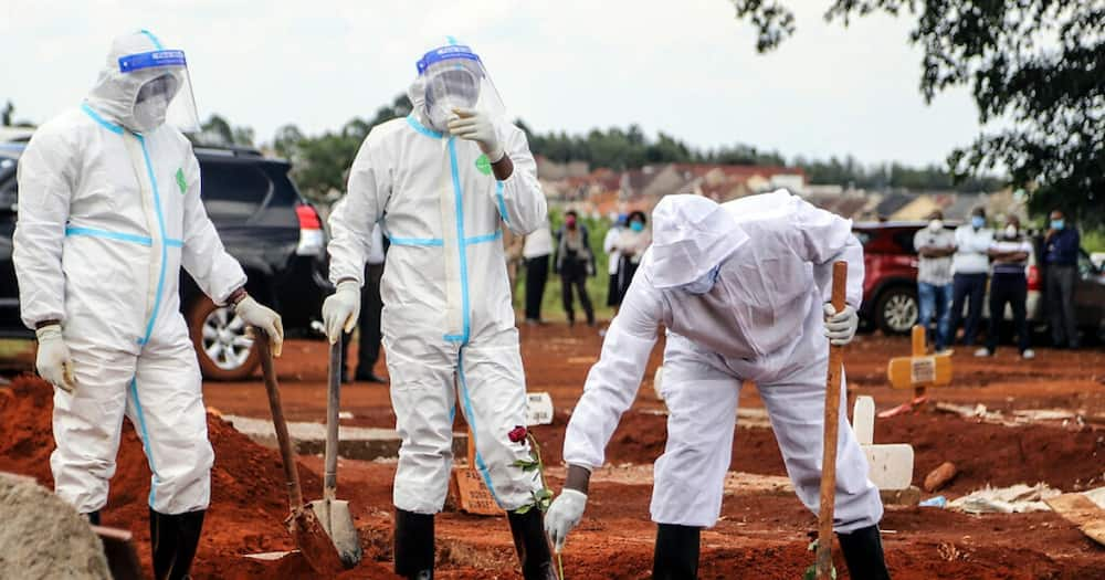 Health workers burying COVID-19 victims decry getting isolated from friends, colleagues