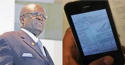 Instant answers are streamed live to some students via mobile phones - KNEC boss Magoha