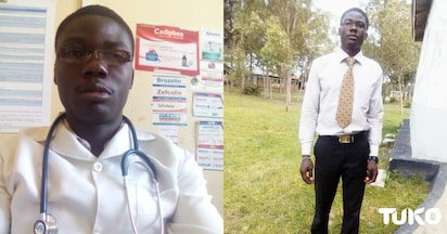 Benjamin Oduor: sat for KCSE twice, repeated Class 8 and is now a doctor