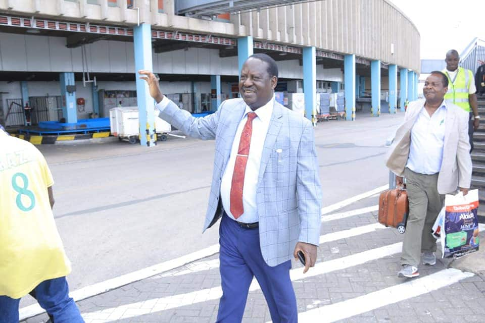 Image result for images of Raila headed to China