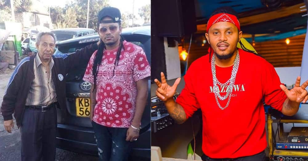 """Dj Kalonje Pays Tribute to Late Father on Death Anniversary: """"Missing You so Bad"""""""