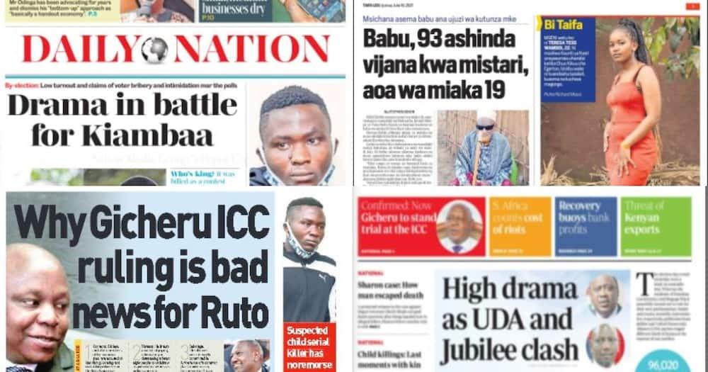 Kenyan Newspapers Review: Voter Bribery, Intimidation Mar Kiambaa and Muguga Mini Polls