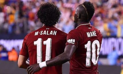 Mo Salah, Sadio Mane top 5-man list for BBC African footballer of the year