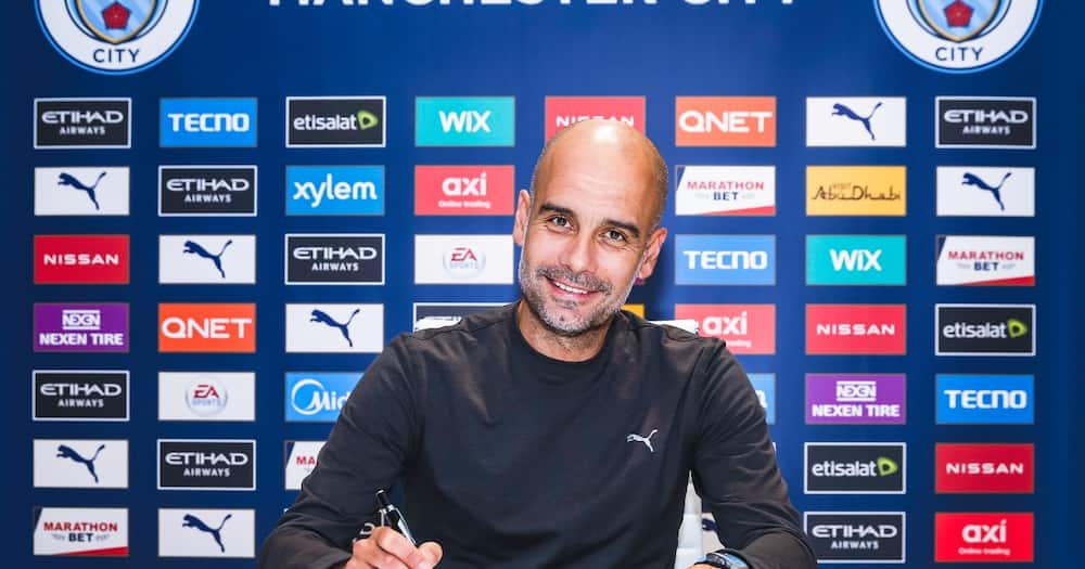 Pep Guardiola signs new 2-year deal to continue as Manchester City boss