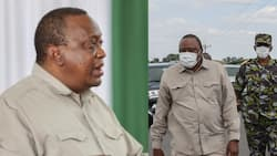 Lamu Man Who Approached Uhuru on Dais Says He Wanted to Ask for a Job