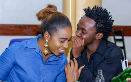 Bahati admits conducting DNA test on daughter with ex-lover Yvette