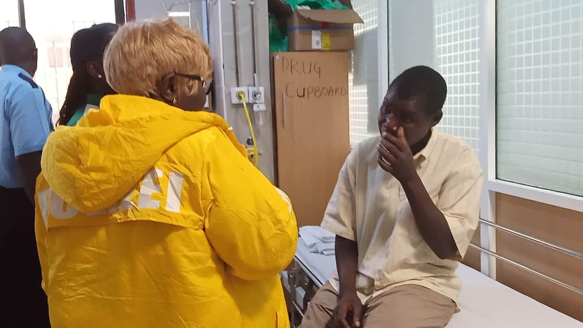 Conjestina Achieng lands in Nairobi, undergoes medical ahead of admission to mental facility