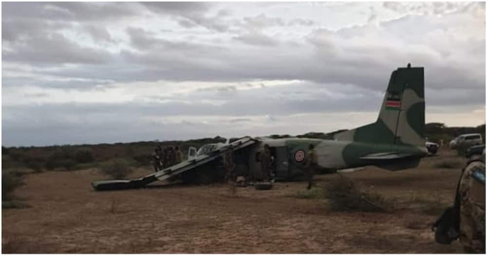 Kenya Airforce plane crashes in Voi