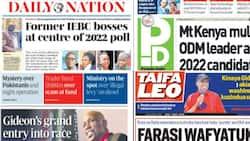 Kenyan Newspapers Review for October 1: Mt Kenya Kieleweke MPs Endorse Raila, Issue Demands