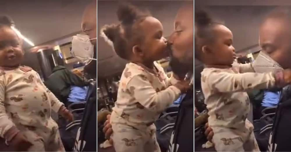Video, Adorable Baby, Removing Mask, Dad, Social Media Reactions