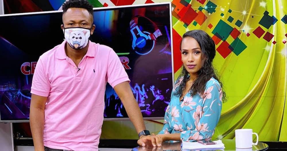 Grace Ekirapa adokezea DJ Mo ameagana na NTV