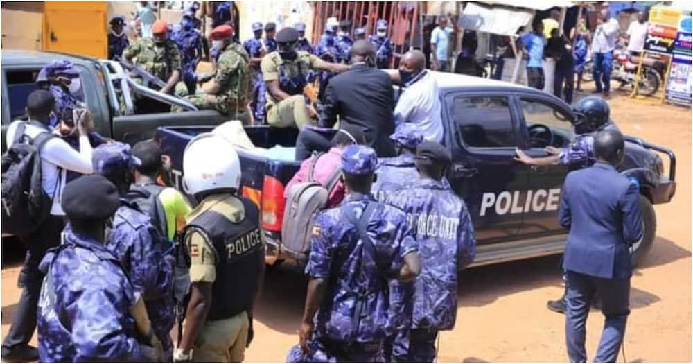 Bobi Wine: Uganda MP arrested, detained hours after office raid