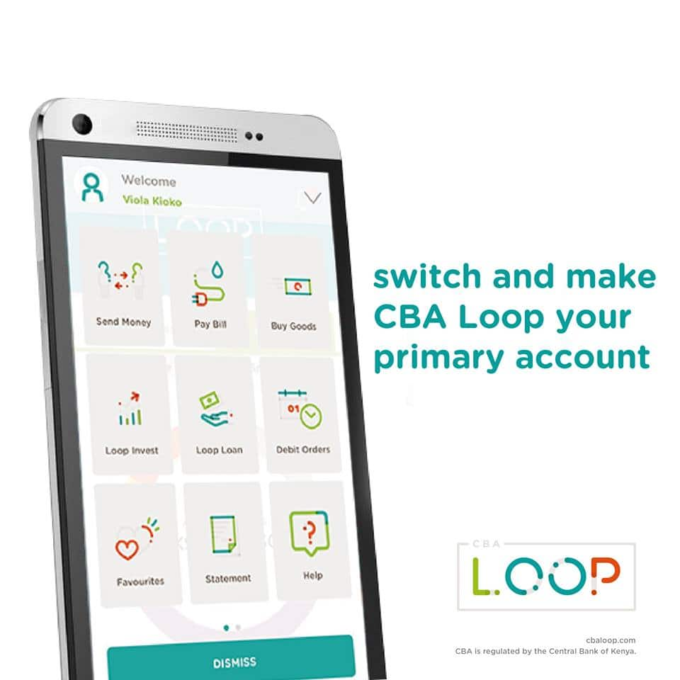 How to open a CBA loop account
