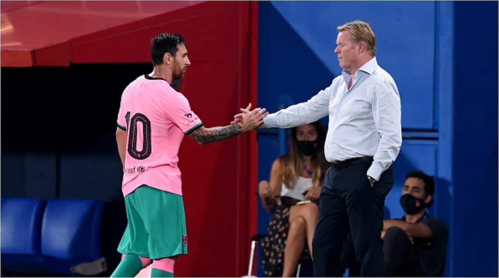 Ronald Koeman: Barcelona manager slams current president Tusquets over Messi comments