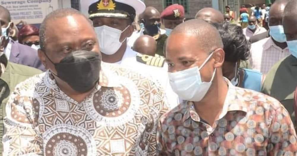 Uhuru Whispered to Me Raila Will Be President, Babu Owino Claims