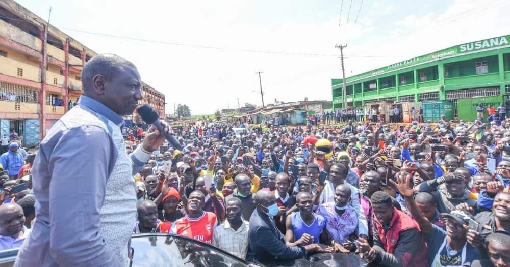 William Ruto said his government will not harass President Uhuru and ODM boss Raila.
