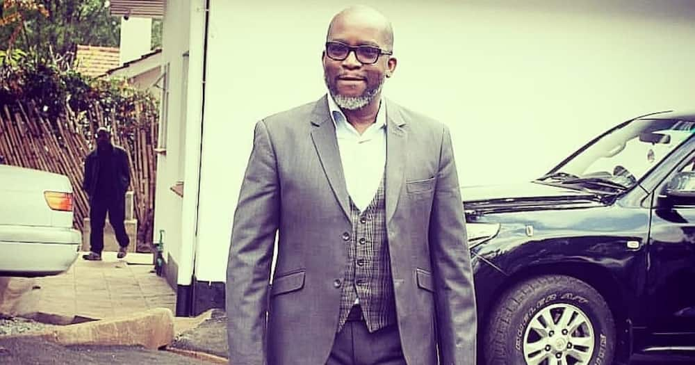 Mzee kijana: Jimmy Gathu elated after welcoming 3rd grandchild