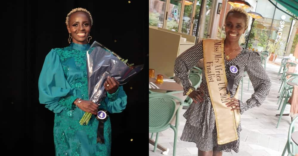 Kenyan Mom in the UK Anne Njeri becomes third in prestigious empowerment pageant.