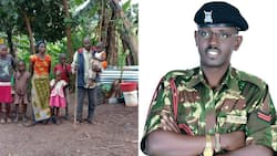 Sammy Ondimu: Renowned Cop Mobilises Help For Family That Lived Under Table