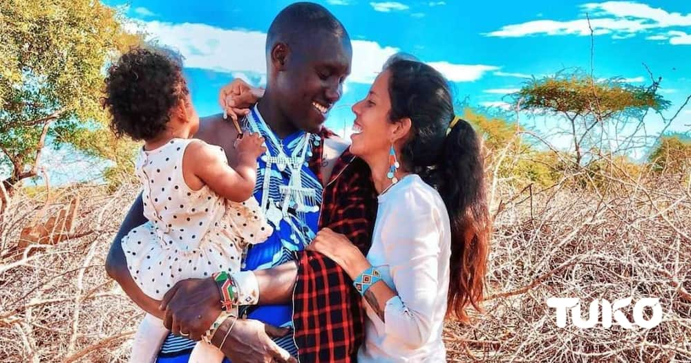 """Maasai man who married Italian woman says the wife is not a good cook: """"But I love her"""""""