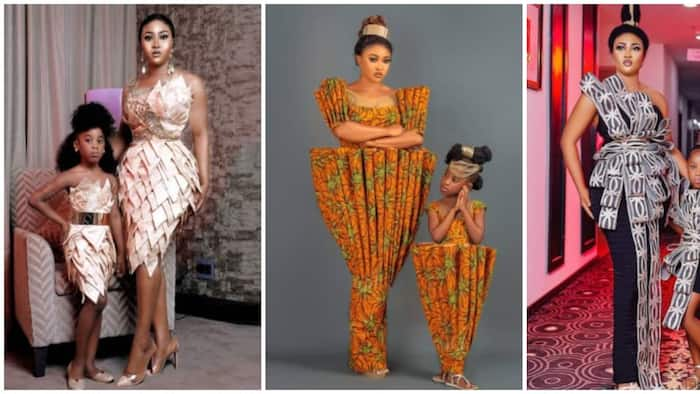 Fashion Designer Luminee Twins with Her Daughter in 8 Adorable Photos