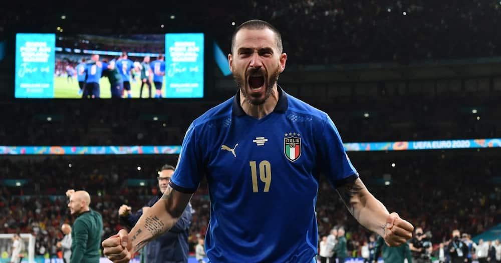 Leonardo Bonucci for Italy.
