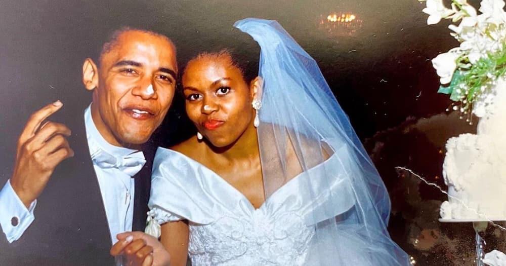 Michelle Obama amsifu mume wake wakisherehekea miaka 28 katika ndoa