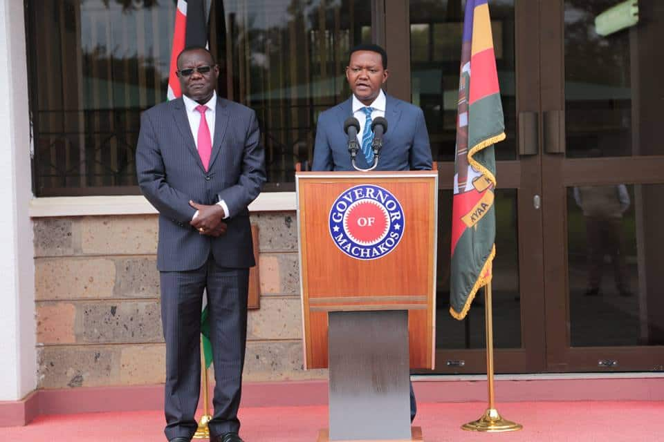 Power-play: Governor Alfred Mutua's deputy impeached as Finance CEC