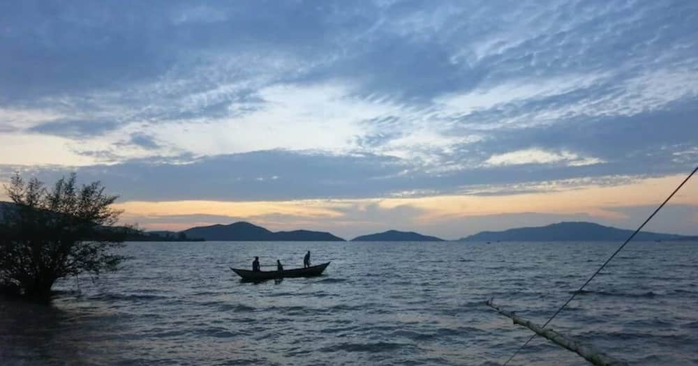 Fisherman in Lake Victoria. Photo: Getty images.