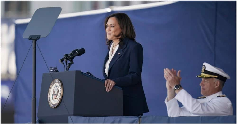 Kamala Harris Becomes First Woman to Deliver US Naval Academy Commencement Speech