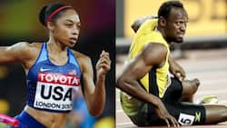 33-year-old mother breaks Usain Bolt's record; becomes world champion titles holder