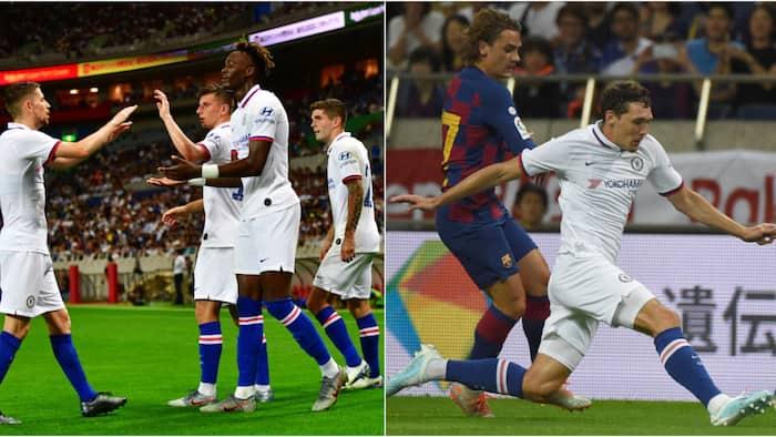 Chelsea yazima Barcelona 2-1 nchini Japan