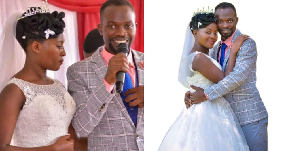 Couple who met in church Whatsapp group narrate how their love blossomed to marriage