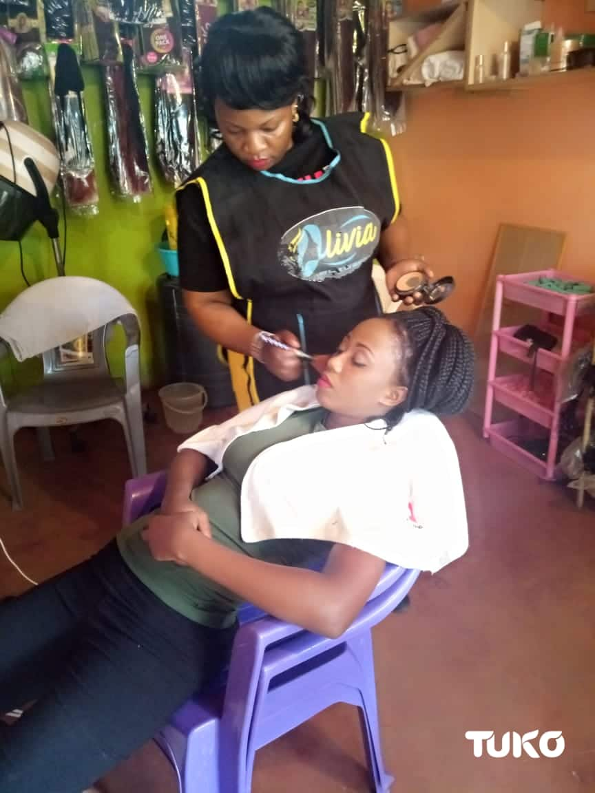 Beautiful send off: Mombasa woman making money from doing makeup on the dead