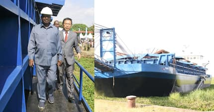Raila Odinga launches operations of giant dredging ship in Kisumu to clean Lake Victoria
