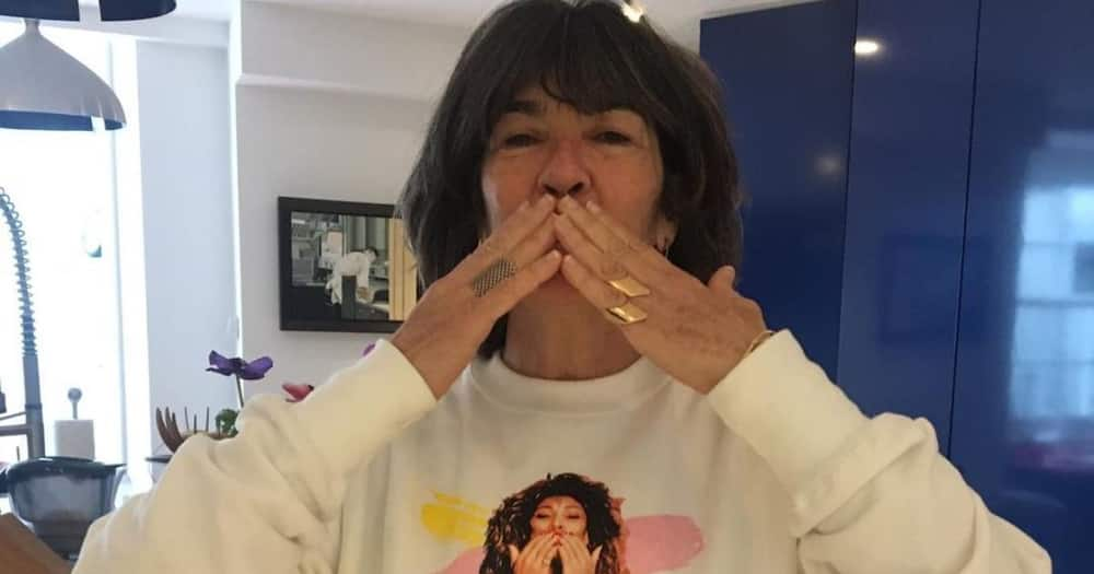 Christiane Amanpour was diagnosed with ovarian cancer.